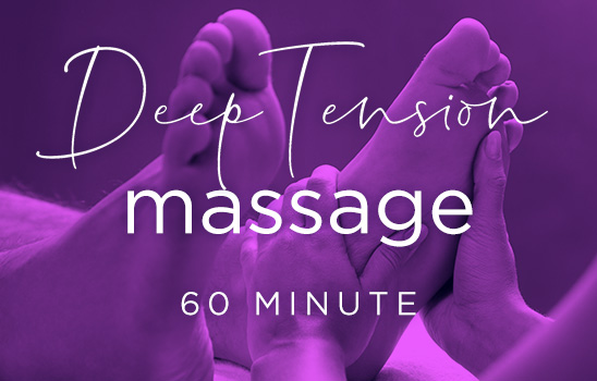 Deep Tension Massage (60 minute)